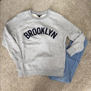 J Crew Brooklyn Sweatshirt SZ: Small